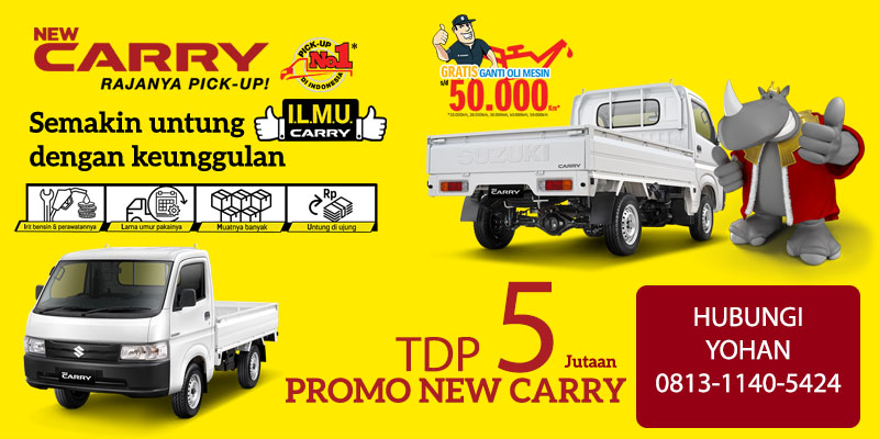 Promo Suzuki New Carry Pick Up 2020
